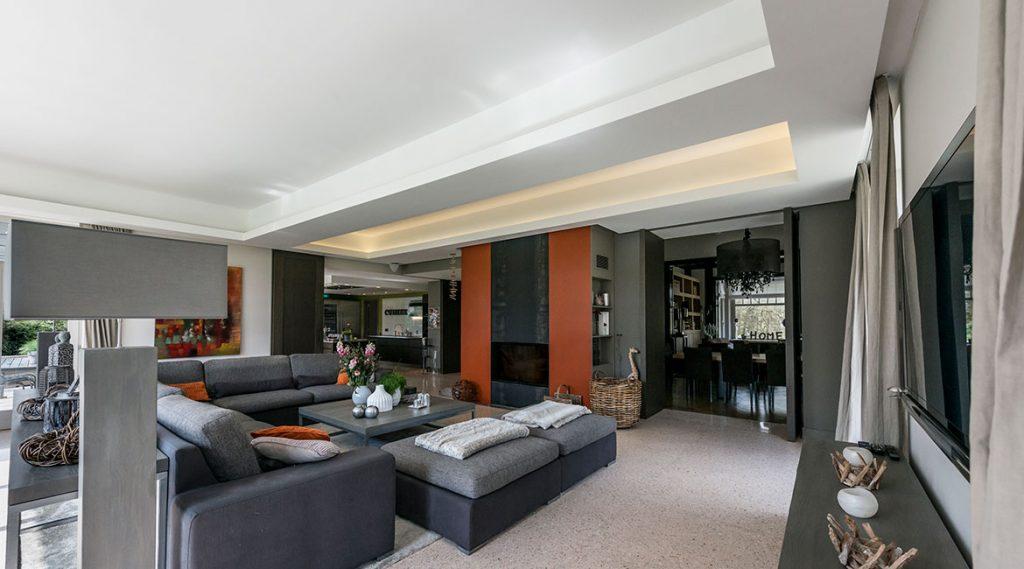 cuisine contemporaine et s jour menuiserie boulanger. Black Bedroom Furniture Sets. Home Design Ideas